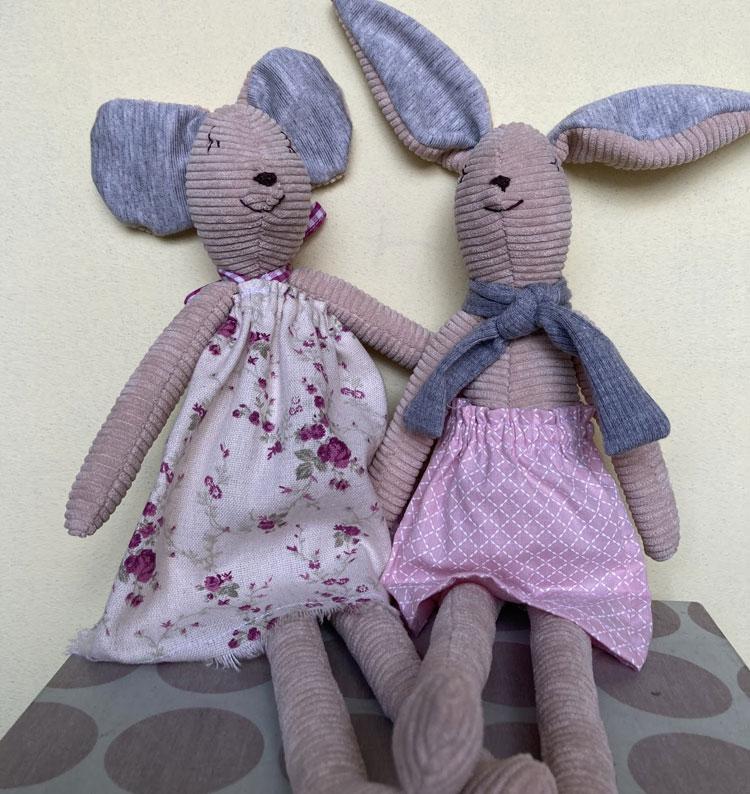importância dos doudou's ritinha ratinha bembê atelier it mãe