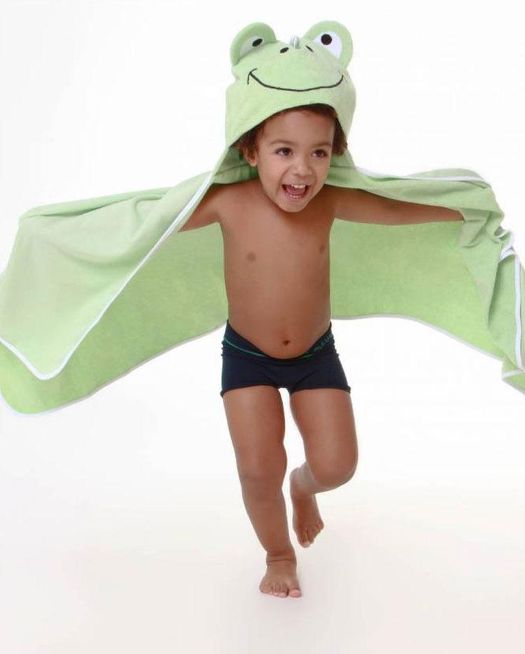 toalha de sapo eumini