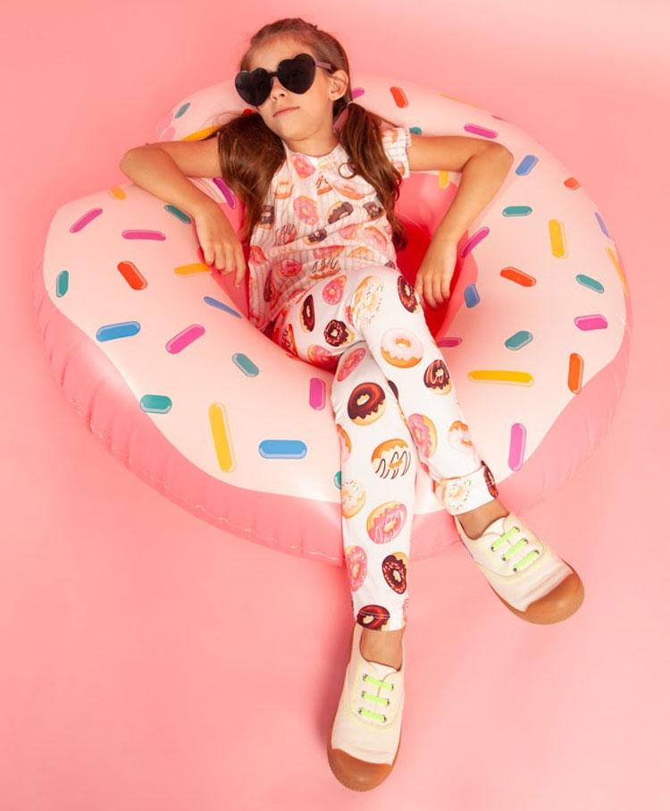 tshirt e leggind donuts souris kids it mãe