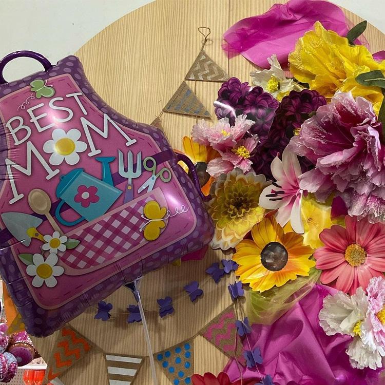 Rica Festa: Dia das Mães homemade - Flores são sempre bem-vindas - It Mãe