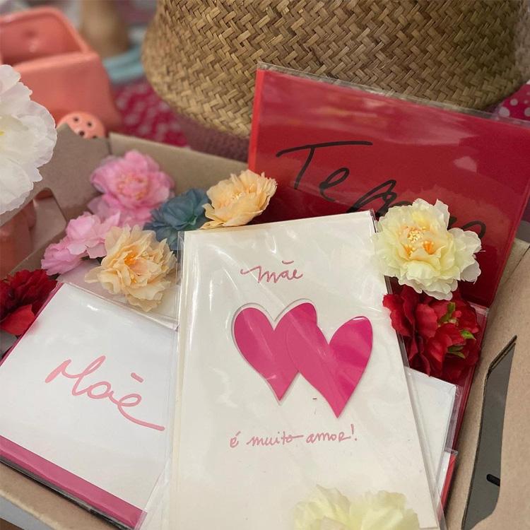 Rica Festa: Dia das Mães homemade - Cartão - It Mãe