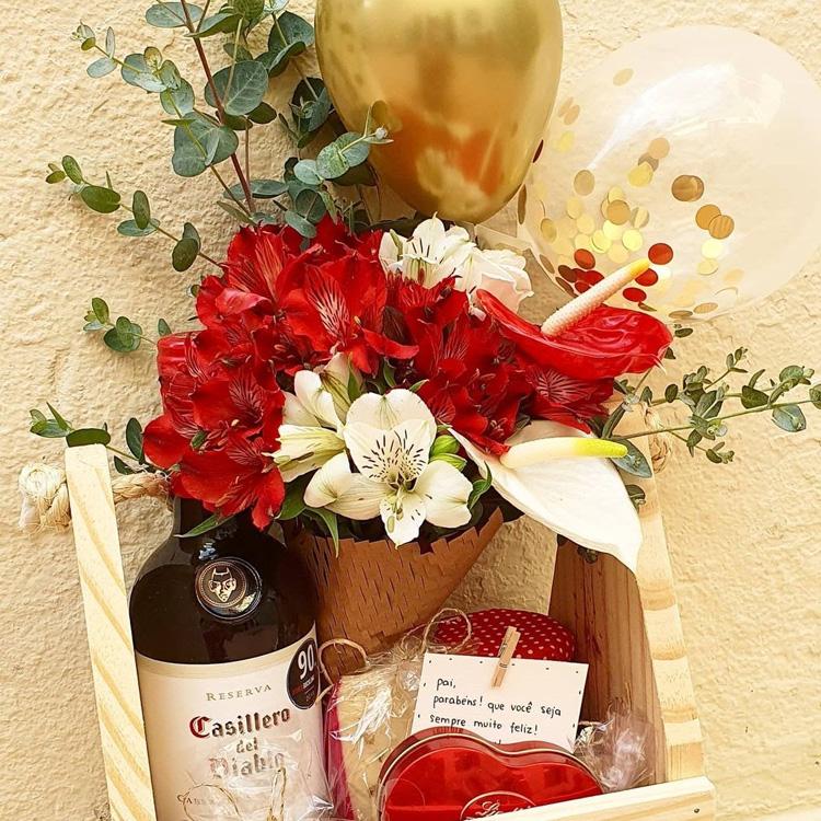 It Mãe - Dia dos Namorados em família - Afeto na Cesta