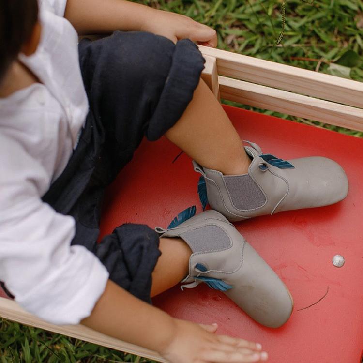 Laranjeiras Kids - Botas e galochas -Bota Tip Toey Joey Horsy cinza - It Mães