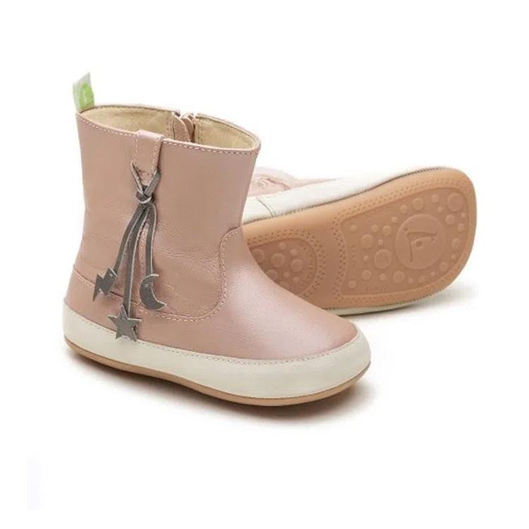 Laranjeiras Kids - Botas e galochas - Bota Tip Toey Joey Starry Nighty rosa perolado - It Mãe