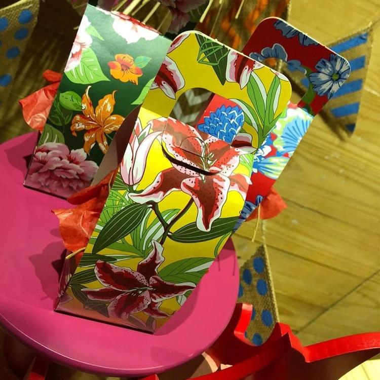 It Mãe: festa junina em casa - caixa de lembrancinhas