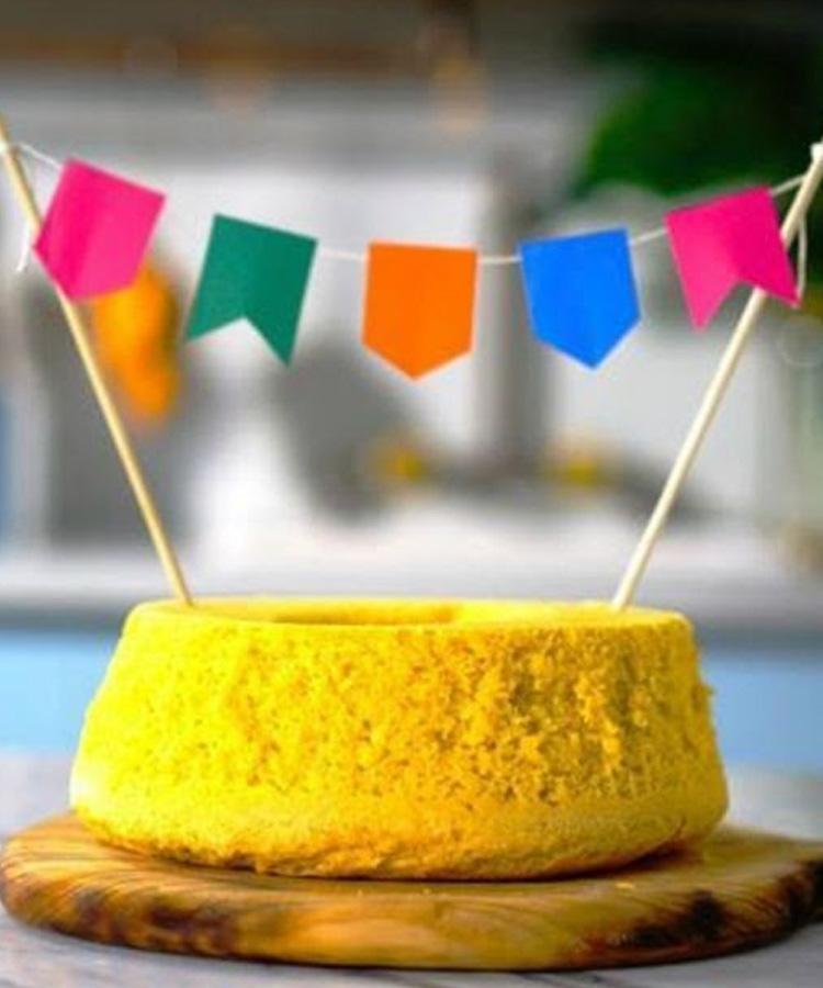 It Mãe: festa junina em casa - receita de bolo de milho