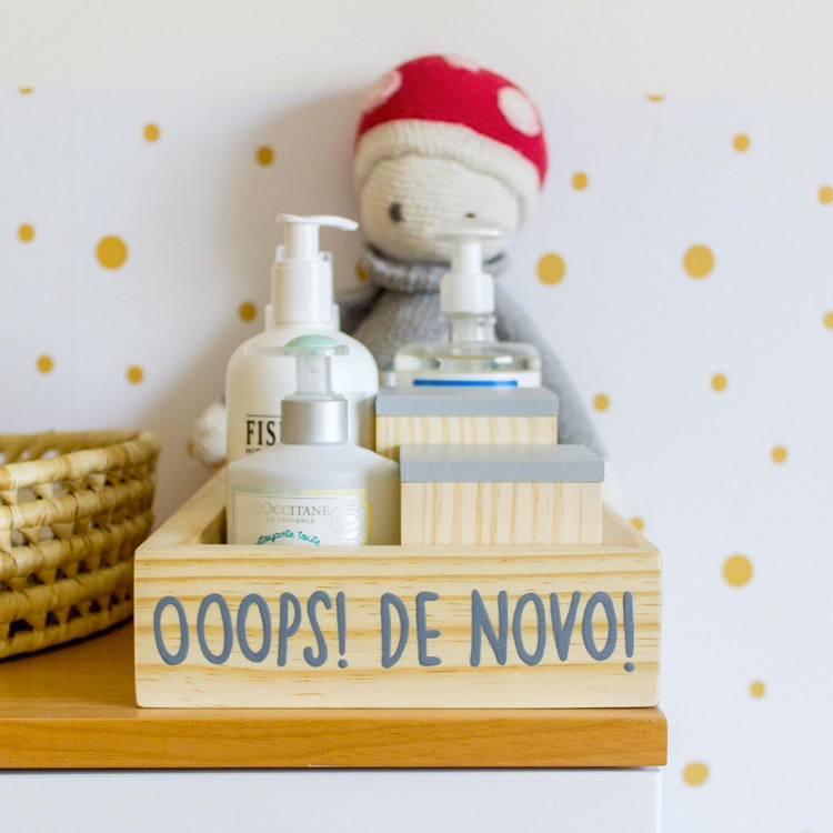 bandeja kit higiene ateliê baobá it mãe