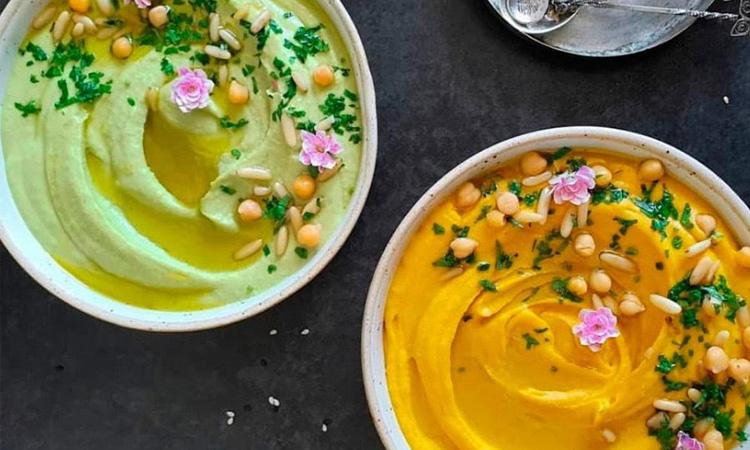 It Mãe - noite especial a dois - Do Oriente ao Pote - humus