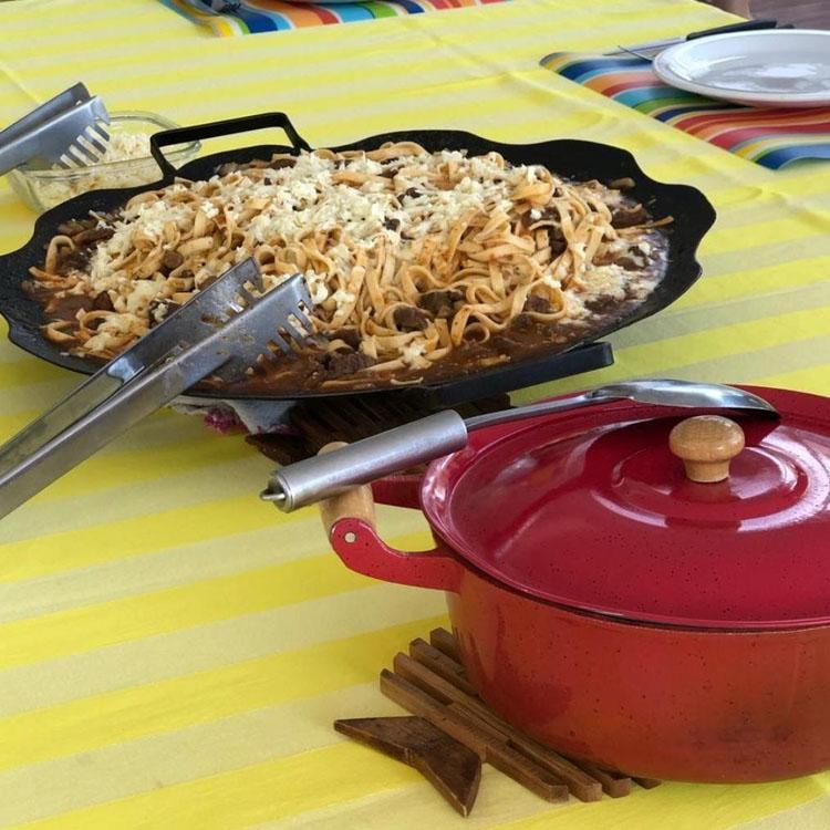 Macarrão arado com queijo canastra Rancho Mamata - It Mãe