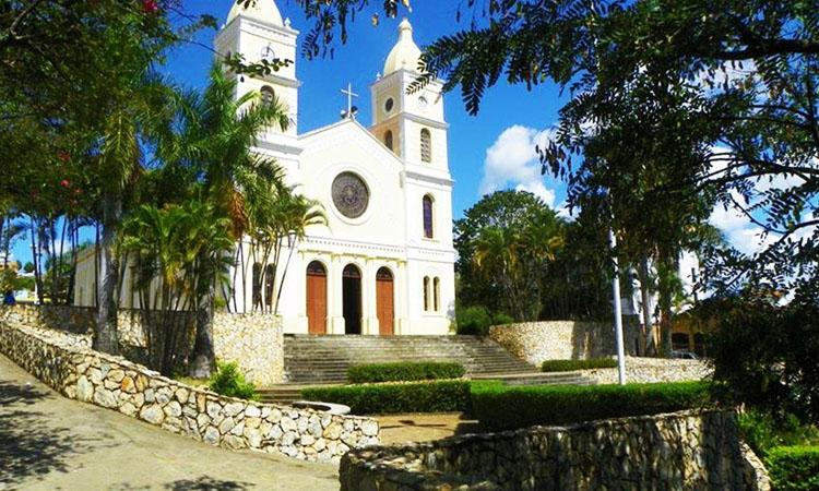 Vista da Igreja Matriz de São Sebastião