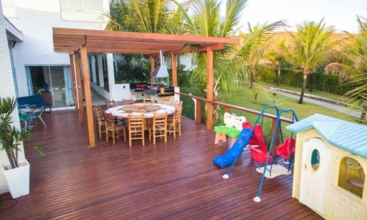 Casa no lago Brinquedos para crianças Rancho Mamata - It Mãe