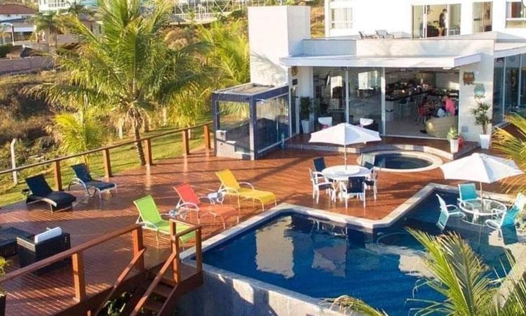 Área externa Casa no lago Rancho Mamata - It Mãe