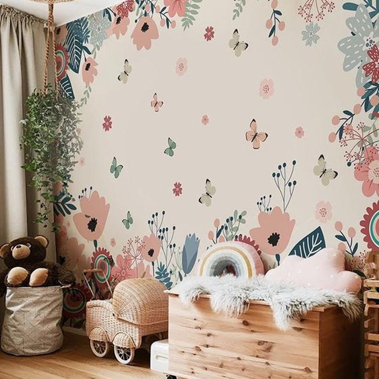 It Mãe - Elefantinho Colorido - quarto das pequenas - adesivo florido