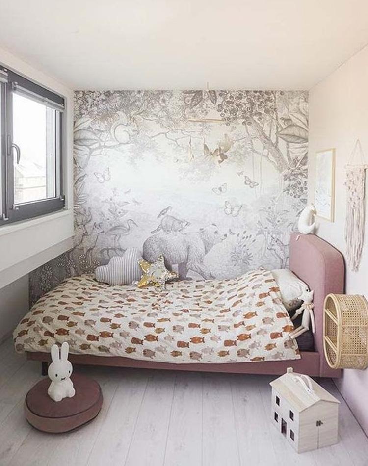 It Mãe - Elefantinho Colorido - quarto das pequenas -adesivo de floresta
