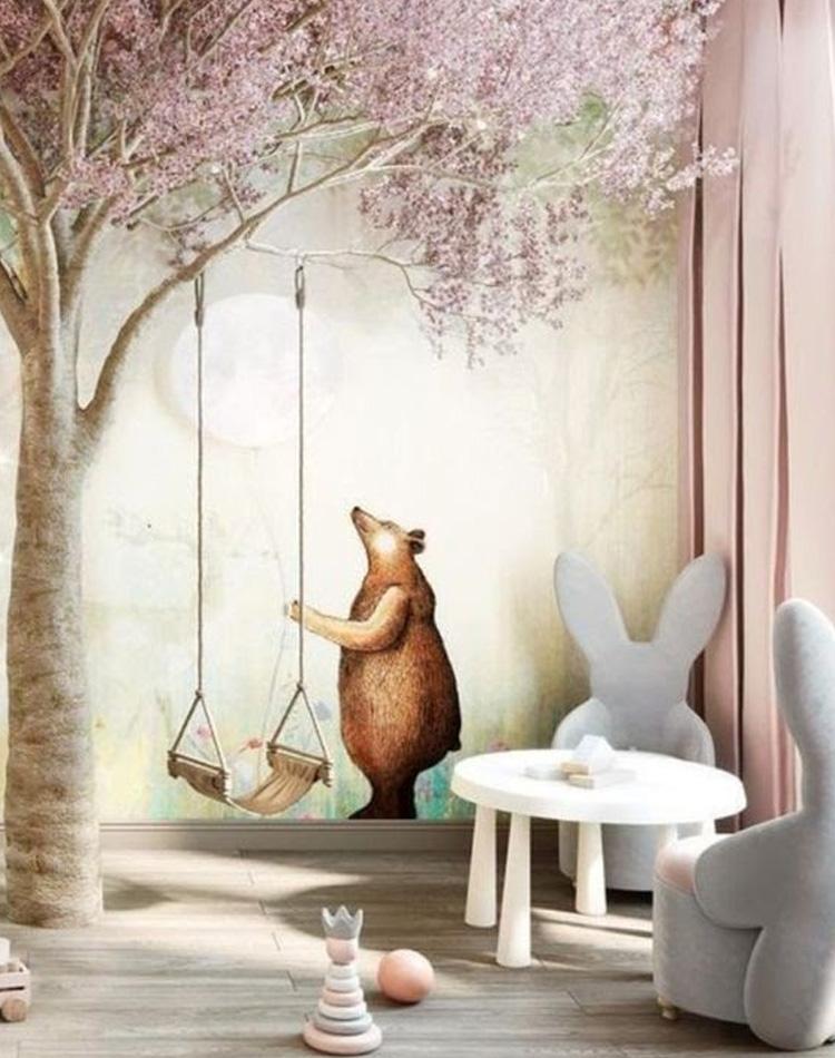 It Mãe - Elefantinho Colorido - quarto das pequenas - adesivo de urso