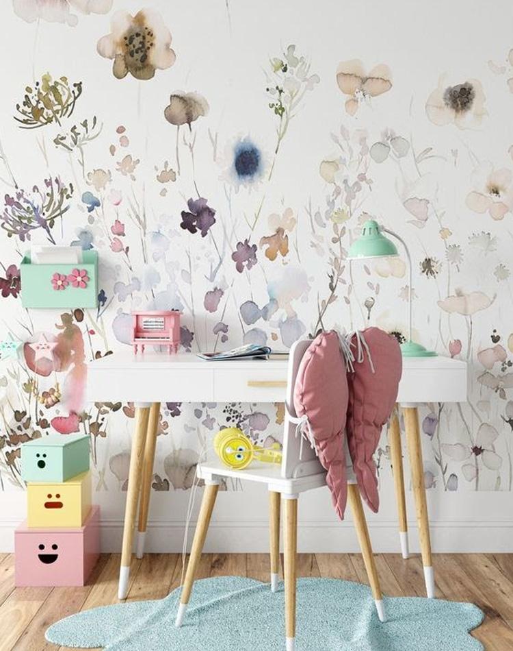 It Mãe - Elefantinho Colorido - quarto das pequenas - adesivo de parede
