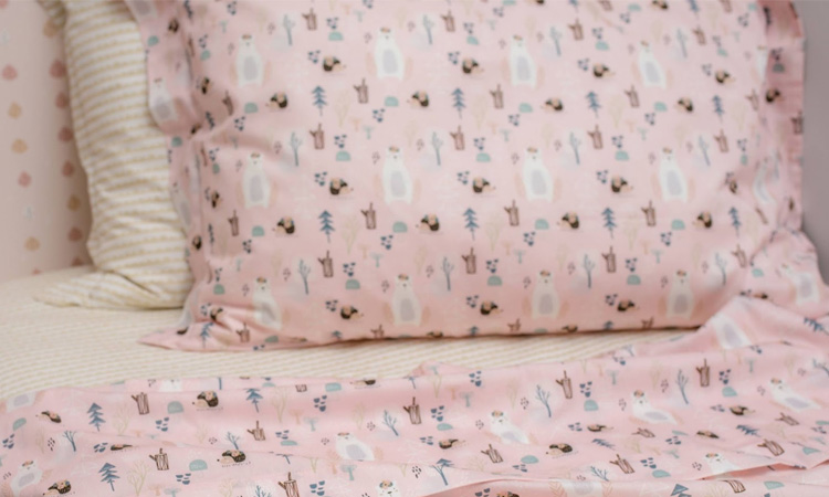 It Mãe - Elefantinho Colorido - quarto das pequenas - jogo de cama floresta