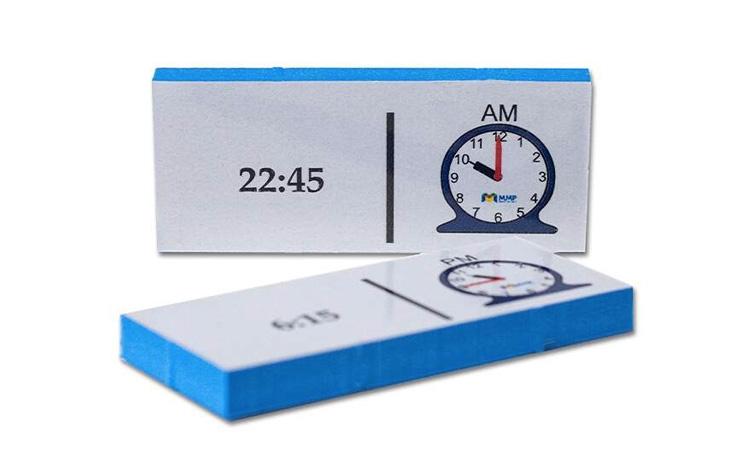 Jogos pedagógicos para o desenvolvimento das crianças: medida do tempo - MMP - It Mãe