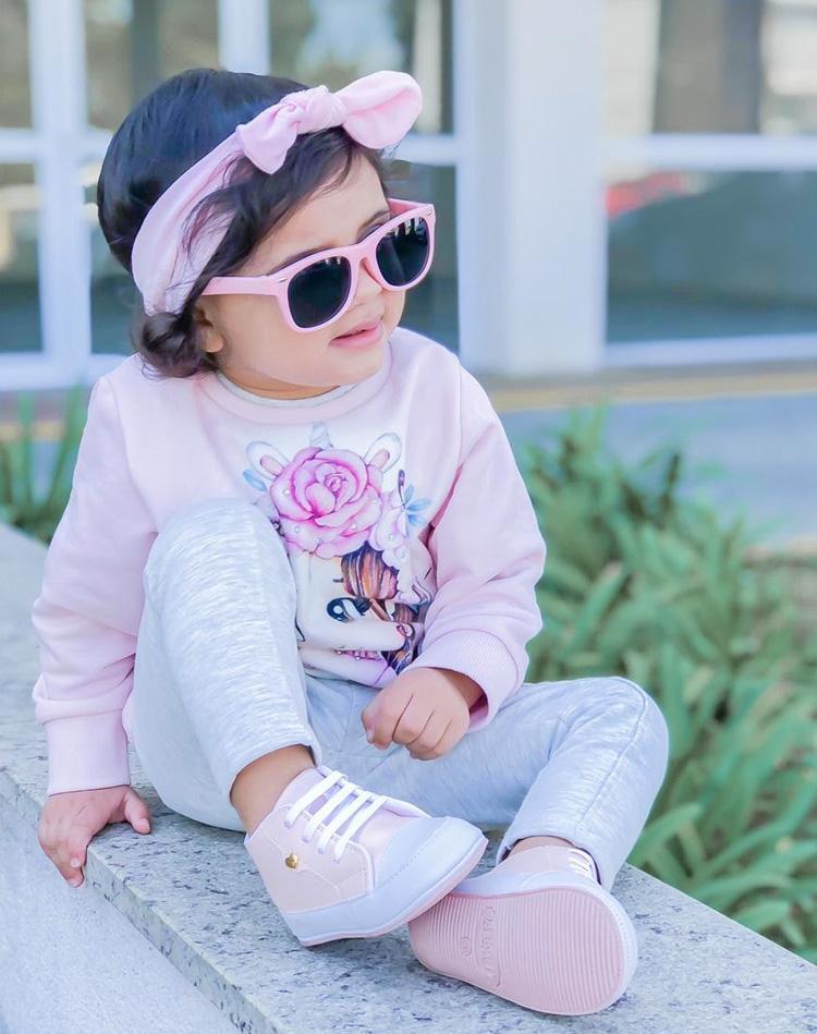 Looks com roupa de brincar:  moletom Rique Baby Store - It Mãe