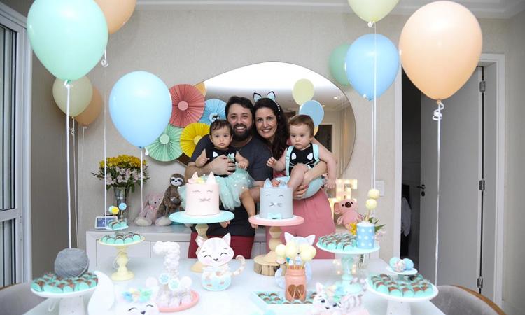 Temas para festas de aniversário sem personagens: Gatinhos Bella Idea - It Mãe