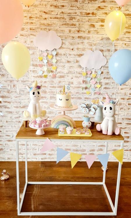 Temas para festa de aniversário Unicórnio Bella Idea - It Mãe