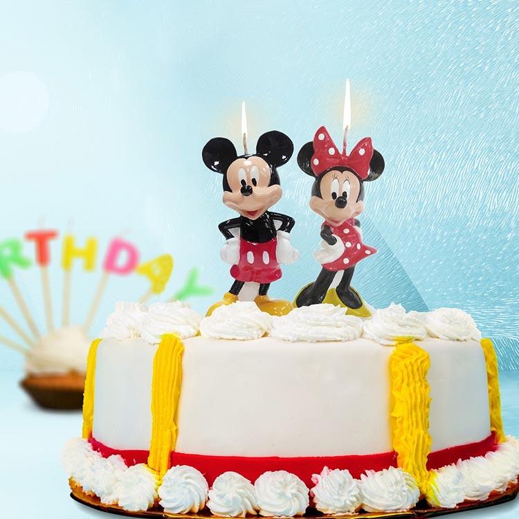 Velas Mickey e Minnie 3D - It Mãe