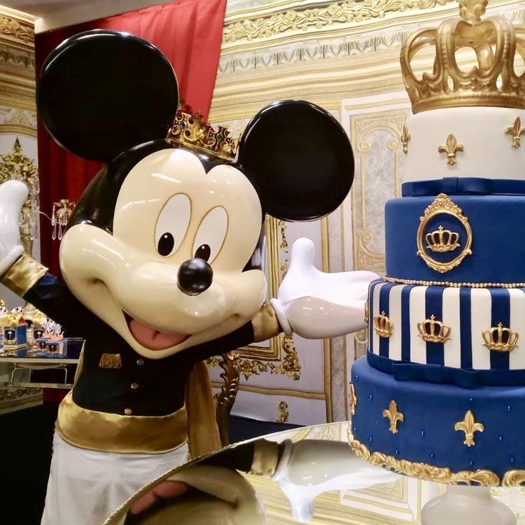 Festa Disney dourada - It Mãe