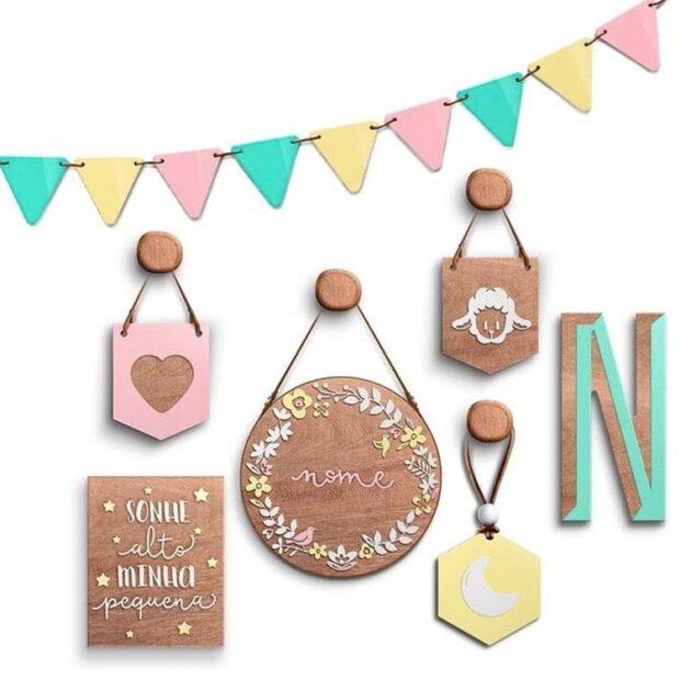 Dicas para um quarto infantil personalizado Flamingoiaba - It Mãe
