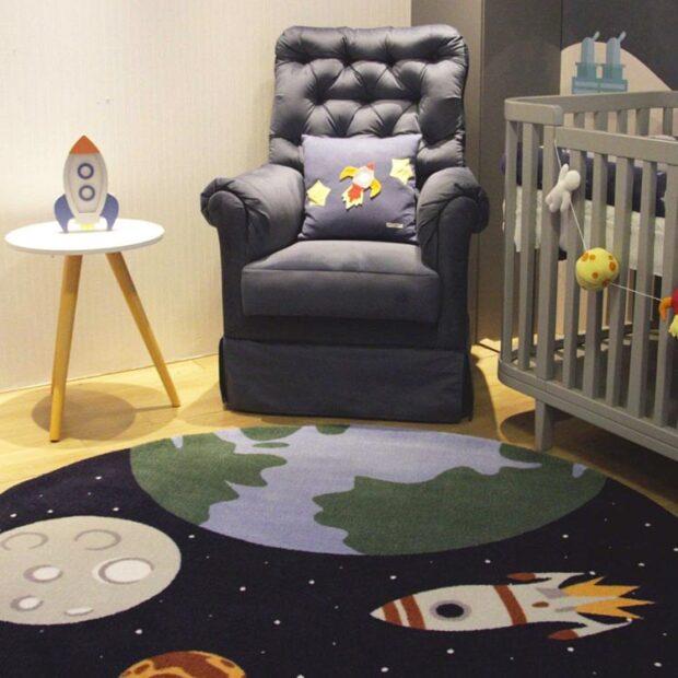 tapete para quarto infantil Moriah Tapetes - It Mãe
