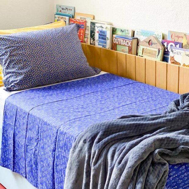 Jogo de cama quarto infantil Elefantinho Colorido - It Mãe