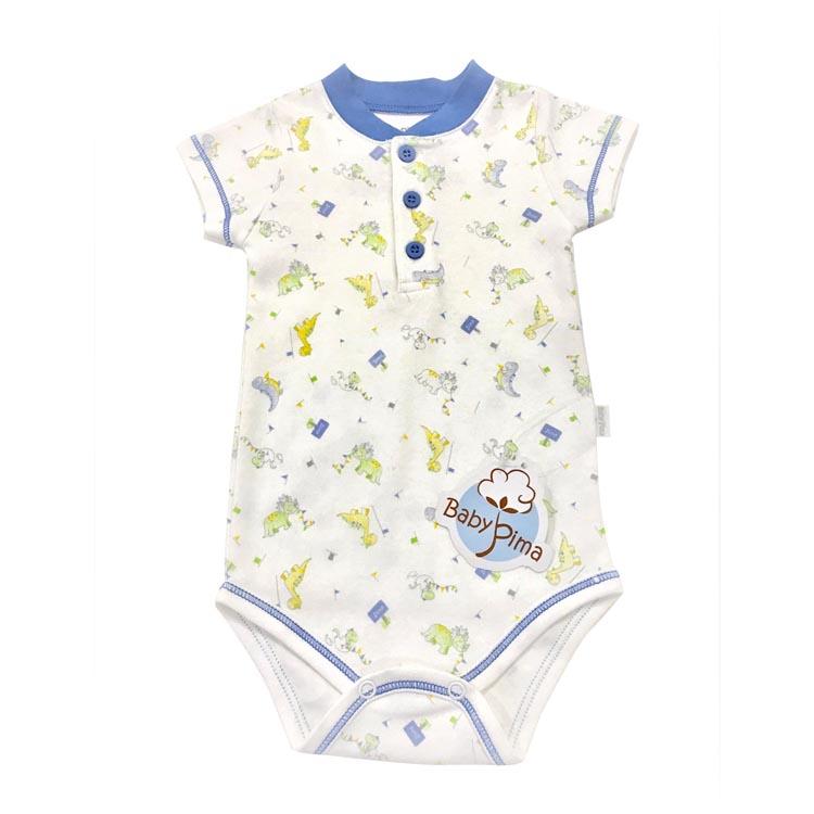 Body primavera verão Baby Pima - It Mãe