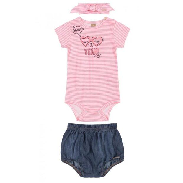 Look verão menina Rique Baby Store - It Mãe