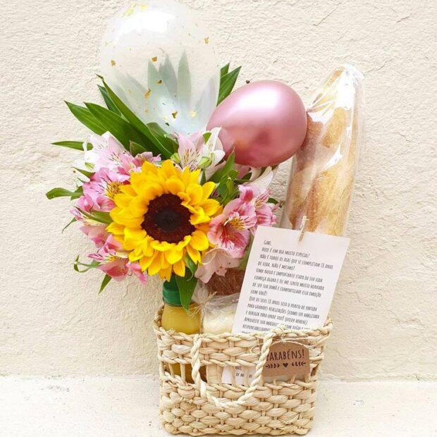 Presentes para mãe - Afeto na cesta - It Mãe